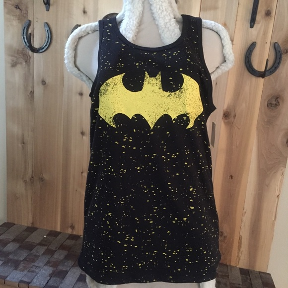c899d0a6f56 DC Comics Shirts | Nwt Mens Batman Logo Tank Top Licensed | Poshmark